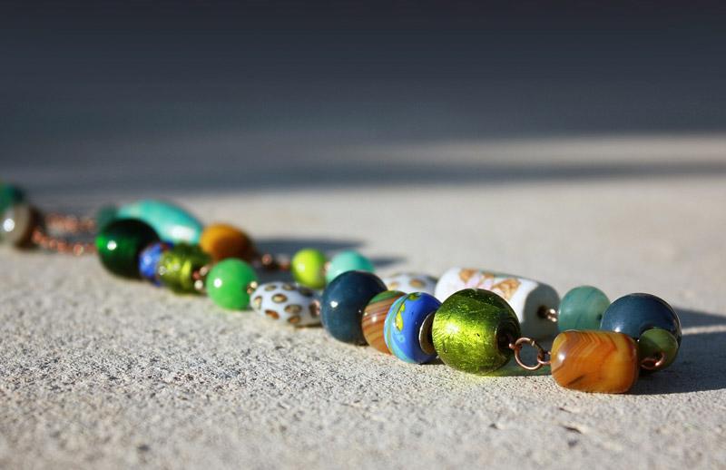 Ročno izdelana ogrlica