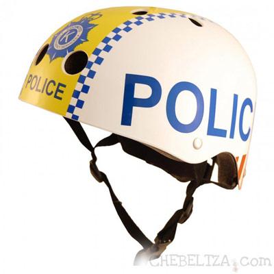 Otroška čelada - policist